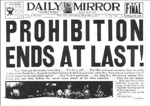 Prohibitionheadline
