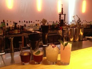Ma Peche guest bartender drinks. Photo courtesy of Lynnette Marrero.