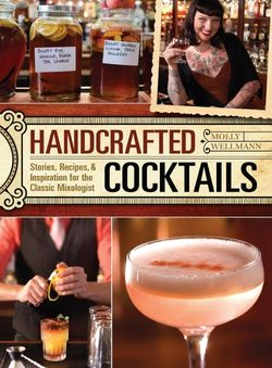 Handcrafted cocktails cover